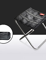 cheap -Camping Chair Portable Foldable Washable Comfortable Aluminum Alloy Oxford for 1 person Fishing Beach Camping / Hiking / Caving Traveling Autumn / Fall Summer Violet Orange Champagne Silver