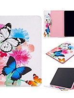 cheap -Case For Apple iPad Air / iPad 4/3/2 / iPad Mini 3/2/1 Wallet / Card Holder / with Stand Full Body Cases Butterfly PU Leather