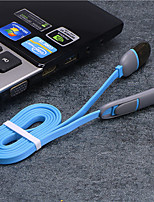 cheap -USB data line 2-in-1Fast Charging Cable multi-function data line for Apple android charging line