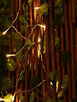 Недорогие -ZHT 10 м Гирлянды Пульты управления 80 светодиоды EL 1 пульт дистанционного управления Keys 1 комплект Тёплый белый День Благодарения День святого Валентина