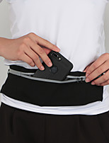 cheap -Running Belt Fanny Pack Belt Pouch / Belt Bag for Running Hiking Outdoor Exercise Traveling Sports Bag Reflective Adjustable Waterproof Nylon Fiber Men's Women's Running Bag Adults