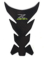 cheap -Carbon 3D ADESIVI Sticker Decal Emblem Protection Tank Pad Cas Cap Fit KAWASAKI Z900