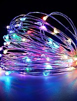 cheap -5M 50LED USB Powered Fairy String Lights New Year Holiday Family Christmas Wedding Party Flowers Cake Valentine's Day Decoration