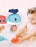 cheap -Baby Play Water Toys Ocean Turn Children's Bathroom Whale Shower Toy Baby Play Water Spray Play Parent-child Interaction Toys