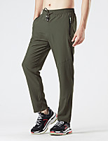 cheap -Men's Hiking Pants Summer Outdoor Loose Breathable Quick Dry Sweat-wicking Comfortable Cotton Pants / Trousers Bottoms Camping / Hiking Hunting Fishing Black Army Green Grey L XL XXL XXXL 4XL