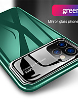 cheap -Luxury Mirror Glass Hard PC Phone Case For Apple iphone 11 Pro Max SE 2020 XS Max XR X 8 Plus 7 Plus 6 Plus Shockproof Full Protection Back Cover