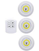Недорогие -Круглые Сенсорная лампа Светодиодный ночник Сенсорный датчик Сенсорный Хэллоуин / Рождество Аккумуляторы AAA 1 комплект