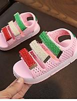 cheap -Girls' Comfort PU Sandals Big Kids(7years +) White / Black / Pink Spring