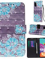Недорогие -чехол для samsung galaxy a70e a11 чехол для телефона искусственная кожа материал 3d окрашенный рисунок чехол для телефона a50s a91 a81 a71 a41 a01 a20s a10s a10 a20 a30 a40 a50 a50 a70 a7 2018