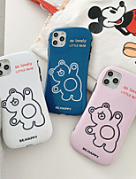 cheap -Case For Apple iPhone 11 / iPhone 11 Pro / iPhone 11 Pro Max Shockproof Back Cover Tile / Animal / Cartoon TPU