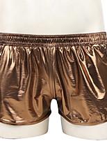 Недорогие -Муж. Классический Боксеры - Нормальная Заниженная Зеленый Тёмно-синий Серебряный S M L