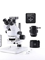 cheap -Industrial  Microscope Magnification Continuous Zoom 7X - 45X For LAB Phone PCB Repair Soldering