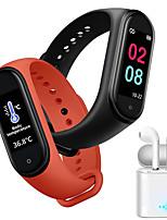 Недорогие -jsbp m4 женщины умный браслет термометр smartwatch bt фитнес-оборудование монитор водонепроницаемый с tws bluetooth-гарнитура температура тела для android samsung / huawei / xiaomi ios мобильный