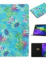 cheap -Case For Apple iPad Air / iPad Mini 3/2/1 / iPad Mini 4 Card Holder / with Stand / Pattern Full Body Cases Scenery PU Leather For iPad New Air 2019 10.5/Pro 11 2020/Mini 5/iPad 10.2/2017/2018