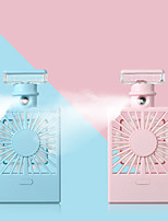 cheap -Spray perfume bottle humidifier fan spray water replenisher cooler USB charging fan mini air conditioning fan