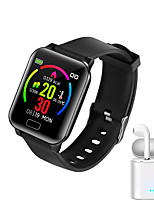 cheap -JSBP Y3  Women Smart Bracelet Smartwatch BT Fitness Equipment Monitor Waterproof Body Temperature Detection with TWS Bluetooth Wireless for Android Samsung/Huawei/Xiaomi iOS Mobile Phone
