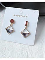 cheap -Women's Earrings Mismatch Earrings Mismatched Love Classic Vintage Earrings Jewelry Brown For Gift Daily 1 Pair