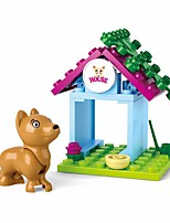 cheap -Building Blocks Educational Toy 19 pcs Dog House Cartoon compatible Plastic Shell Legoing Exquisite Hand-made Decompression Toys DIY Boys and Girls Toy Gift / Kid's