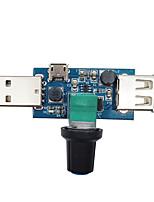 Недорогие -USB мини регулируемый модуль вентилятора скорость ветра и регулятор громкости воздуха