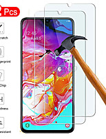 cheap -2PCs Hd Transparent Fall Prevention Tempered Glass For Samsung Galaxy A20 A30 A40 A50 A60 A70 Phone Screen Protector 9H Glass