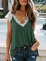 Недорогие -женская кружевная футболка