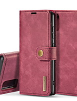 cheap -DG.MING Business Magnetic Flip Leather Case For Samsung Galaxy M40S / M60S / M80S / M30S / M31 With Wallet Card Slot Stand Detachable For Samsung Galaxy A71 / A71 5G / A51 Cover