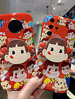 cheap -Case For Huawei Huawei P30 / Huawei P30 Pro / nova 5 Shockproof / with Stand Back Cover Cartoon TPU