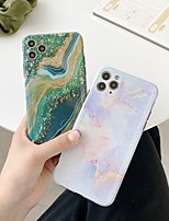 cheap -Case For APPLE iPhone 7 8 7plus 8plus XR XS XSMAX X SE 11 11Pro 11ProMax  Pattern Back Cover TPU marble