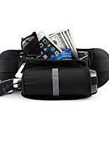 cheap -Running Belt Fanny Pack Belt Pouch / Belt Bag for Running Hiking Outdoor Exercise Traveling Sports Bag Reflective Adjustable Waterproof with Water Bottle Holder Bonded Nylon Men's Women's Running Bag