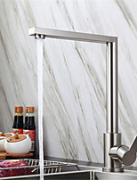 cheap -304 Stainless Steel Kitchen Faucet Lead-free Brushed Hot And Cold Dish Wash Basin Rotatable Faucet