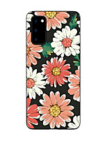 cheap -Case For Samsung Galaxy S20 FE Frosted Pattern Back Cover Flower TPU Soft Galaxy S20 Plus Note 20 Ultra S10E S10 Plus A11 A21S A31 A41 A51 A71 A81 A91