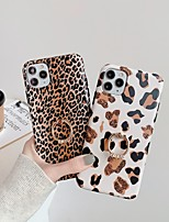 cheap -Case For Apple iPhone 11 / iPhone 11 Pro / iPhone 11 Pro Max Ring Holder / IMD / Frosted Back Cover Animal TPU