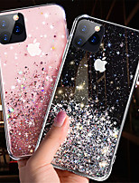 cheap -Glitter Bling Sequins Case for iPhone SE 2020 11 11 Pro 11 Pro Max XS X XR XS Max 8 8 Plus 7 7 Plus
