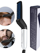cheap -Multifunctional Hair Comb Brush Beard Straightener Hair Straighten Electric Beard Straightening Comb Quick Hair Styler For Men