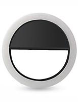 Недорогие -4 цвета мобильного телефона заполняющего света портативная вспышка светодиодная камера телефона фотографии улучшения фотографии для iphone samsung смартфон