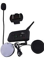 Недорогие -Bluetooth-гарнитура для мотоциклов v4 / Домофон для 4 человек, Bluetooth FM-радио / Домофон 1200 метров / Bluetooth 3.0 / Режим ожидания 360 часов / Водонепроницаемый и ветрозащитный