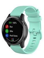 cheap -Watch Band for Vivoactive Garmin Classic Buckle Silicone Wrist Strap