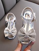 cheap -Girls' Comfort PU Sandals Little Kids(4-7ys) Pink / Gold / Silver Summer