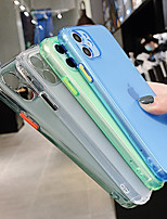 cheap -Transparent Case for iPhone SE 2020 / 11 / 11Pro / 11 Pro / X / XS / XR / XS Max Shockproof Bumper Soft TPU Silicone Colorful Cover for iphone 8Plus / 8 / 7Plus / 7