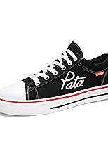 cheap -Unisex Spring & Summer / Fall & Winter Classic / British Daily Outdoor Sneakers Walking Shoes Canvas Breathable Wear Proof Black / White / Black / Red / White