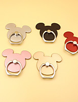 cheap -2 Pcs Universal Finger Ring Creative Mickey Cartoon Mobile Phone Stand Holder Smart Phone Finger Ring Metal Holder 360 Degree Rotation Suitable For iPhone Samsung Huawei Xiaomi