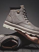 cheap -Men's Summer Outdoor Sneakers PU Black / Brown / Gray