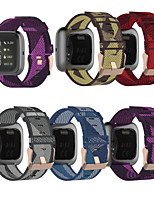 cheap -Watch Band for Fitbit Blaze / Fitbit Versa / Fitbit Versa Lite Fitbit Sport Band / Classic Buckle Nylon Wrist Strap
