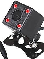 Недорогие -ziqiao 480tvl 720 x 480 ccd проводная 170-градусная камера заднего вида водонепроницаемая / plug and play / ночного видения для автомобиля