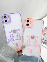 cheap -Case For Apple iPhone 7/8/7P/8P/X/XS/XR/XS Max/11/11 Pro/11 Pro Max/SE 2020Shockproof / Pattern Back Cover Cartoon TPU