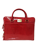 cheap -Women's Zipper PU Leather Briefcase / Top Handle Bag Leather Bags Snakeskin Sillver Gray / Wine / Black / Fall & Winter
