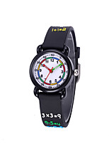 cheap -Kids Sport Watch Quartz 30 m Water Resistant / Waterproof Day Date Analog Cartoon Fashion - Black One Year Battery Life