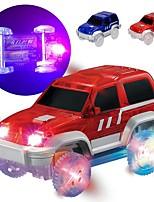 Недорогие -Автомобиль Автомобиль Гоночная машинка LED Cool Своими руками Мини-автомобиль Транспортные средства Игрушки для вечеринки или подарок на день рождения для детей 1 pcs / Детские