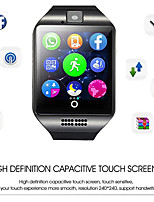Недорогие -Q18 Универсальные Смарт Часы Android Bluetooth Водонепроницаемый Сенсорный экран Измерение кровяного давления Информация Контроль камеры ЭКГ + PPG Датчик для отслеживания сна Поделиться с сообществом