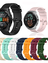 cheap -Sport Silicone Wrist Strap Watch Band for Huawei Watch GT 2e / GT2 46mm / GT Active / Honor Magic Watch 2 46mm / Watch 2 Pro Replaceable Bracelet Wristband